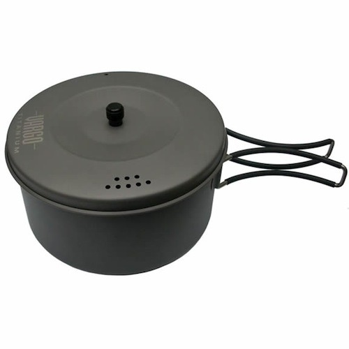 Vargo 1.3 Liter Ultralight Titanium Cook Pot